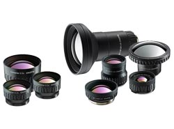 8 Optional lens for maximum versatility