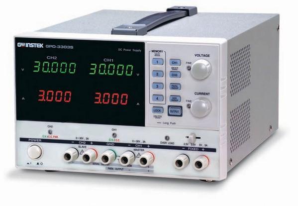 Triple-Output Linear D.C. Power Supply