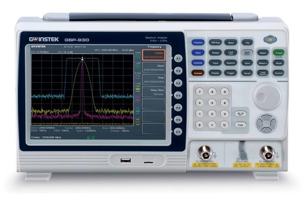 GSP-9TG - 3GHz Spectrum Analyzer with Tracking Generator