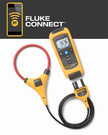 A true-RMS flexible current meter that wirelessly relays measurements to other Fluke Connect™ enabled master units