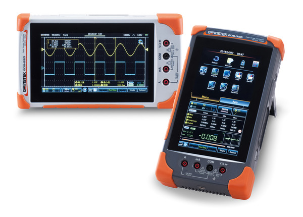 200MHz Compact Digital Storage Oscilloscope (full touch screen) with Temperature Measurement Option