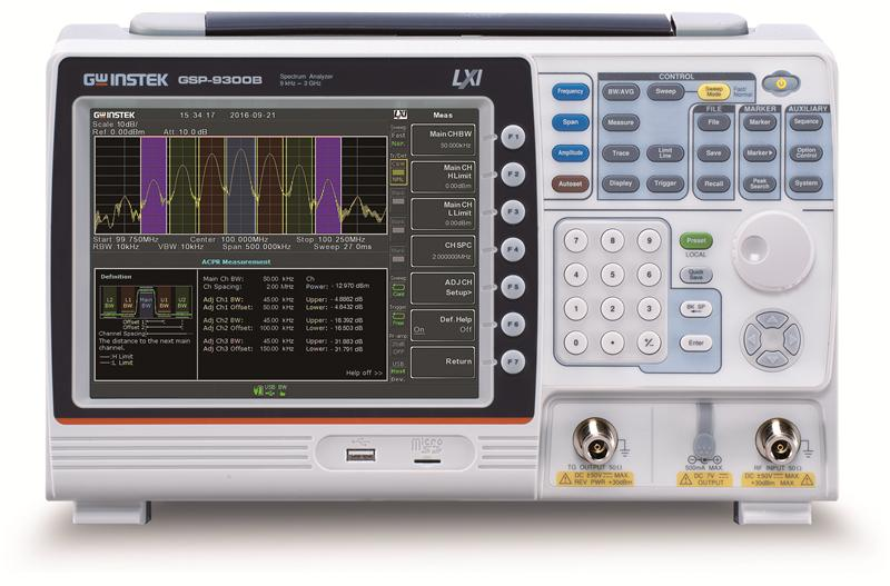 3GHz Spectrum Analyzer with Factory Installed Tracking Generator